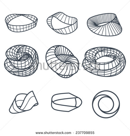 Mobius Strip Stock Images, Royalty.