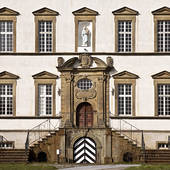 Stock Image of Schloss Sichtigvor, Castle of the Teutonic Order.