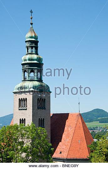 Pfarrkirche Architecture Austrian Stock Photos & Pfarrkirche.
