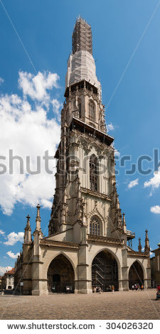Bern Minster Stock Photos, Royalty.