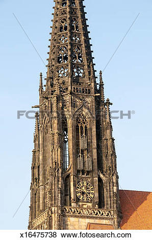 Pictures of Steeple Martyr Cages St. Lambert's Munster Germany.