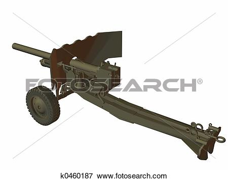 Stock Illustration of Canon 6 lb M.