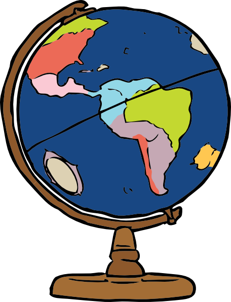 Globe clip art Free Vector / 4Vector.