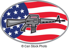 Ar 15 Clip Art Vector Graphics. 5 Ar 15 EPS clipart vector and.