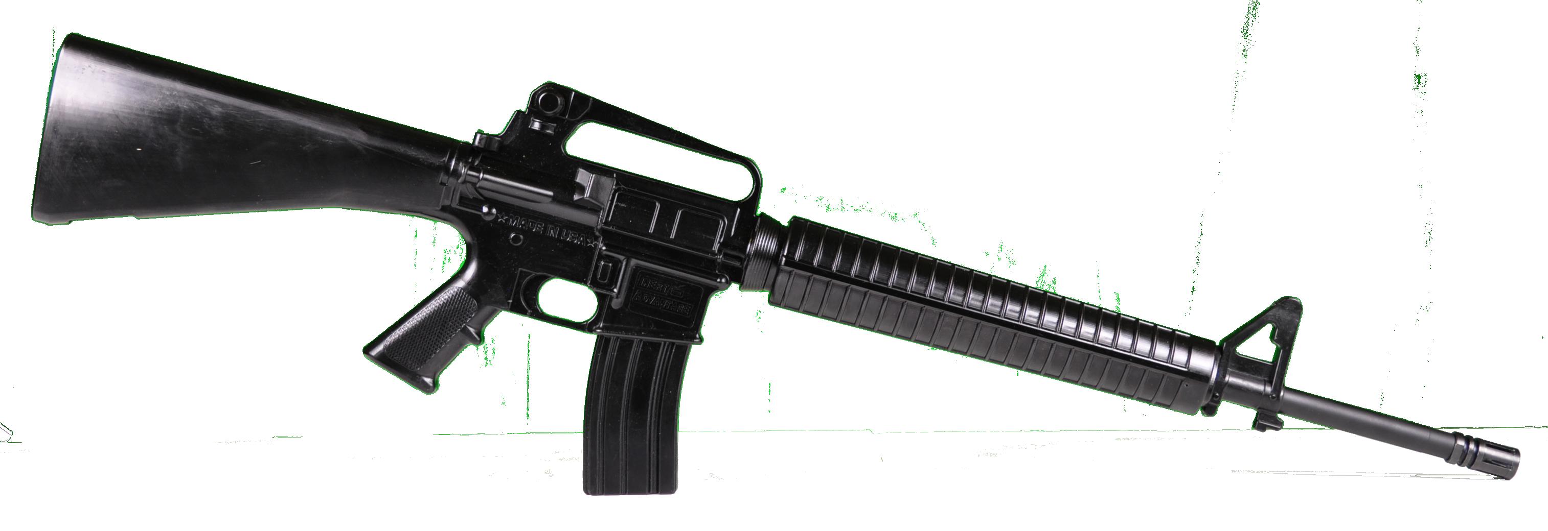 USA assault rifle PNG.