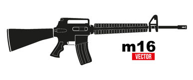 M16 Stock Illustrations.