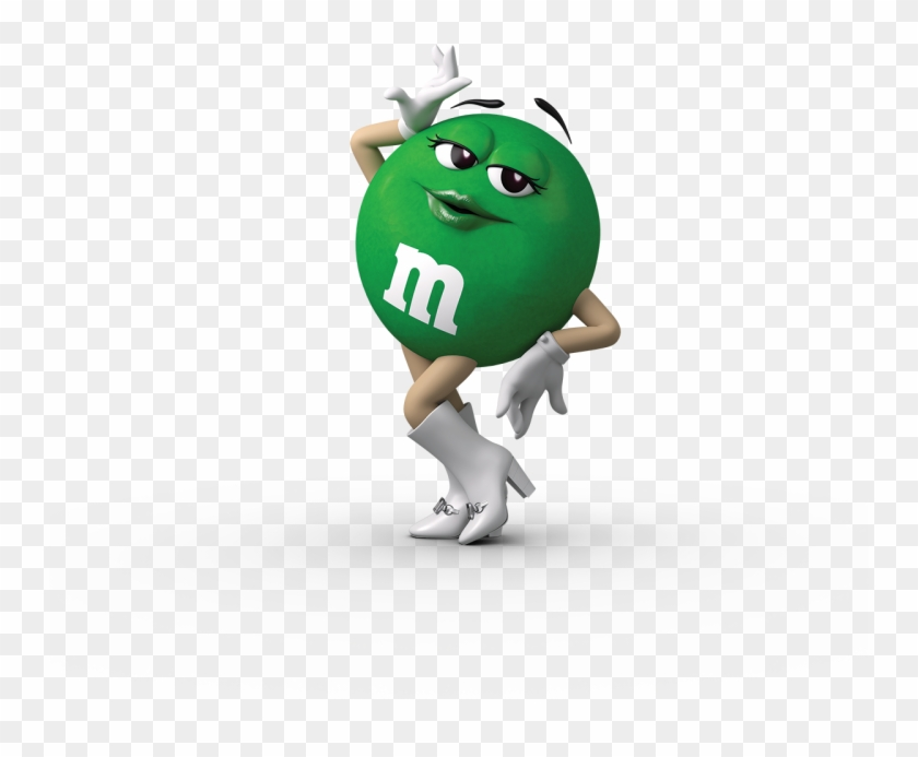 Green Clipart M And M.