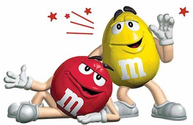 peanut m and m\'s.