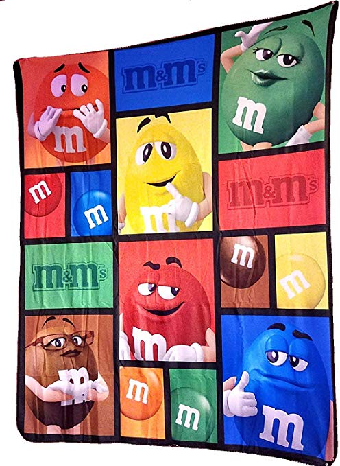 M and M\'s World Kid Fleece Blanket 50\