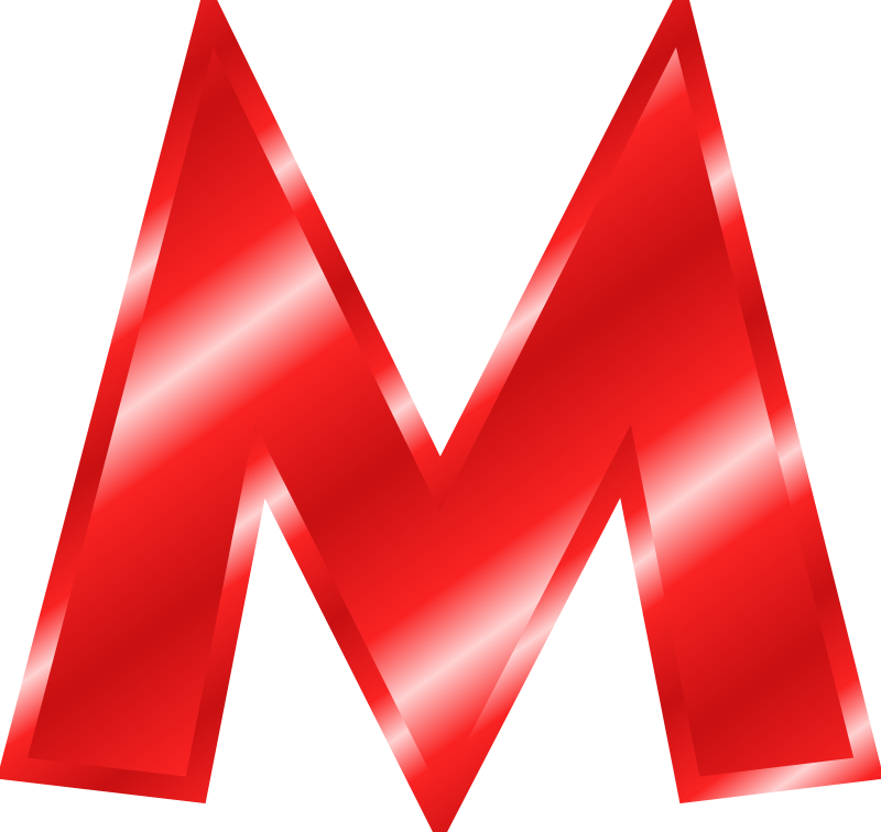 M clipart #9