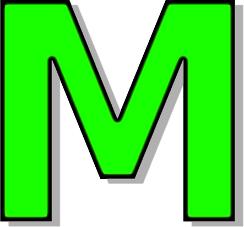 Clipart M.