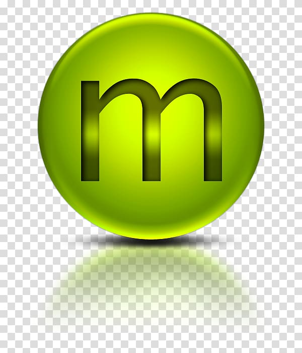 Computer Icons , Metalic Green Letter M Icon transparent.