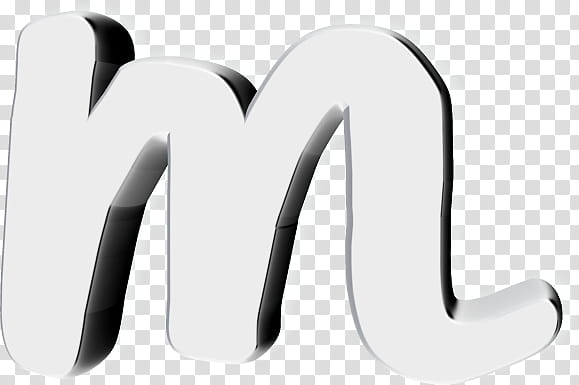 Text D Resources, letter m icon transparent background PNG.