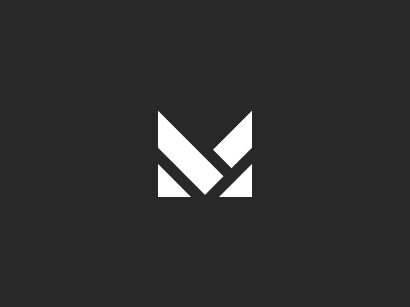 M Logo Design by Al.