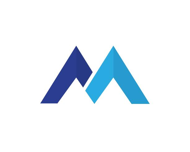 M Logo Business Template Vector icon.