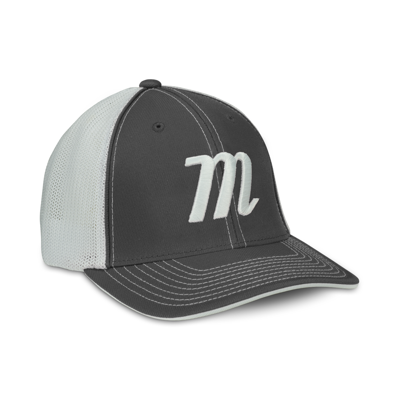 M Logo Snapback Hat.