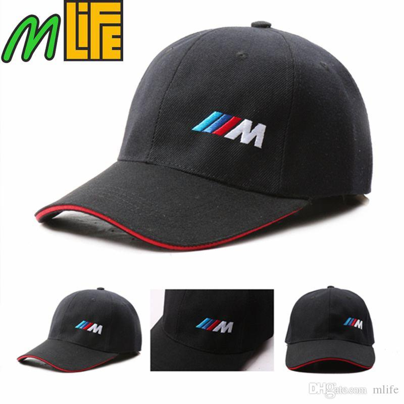 Black Cotton M Logo M Performance Car Baseball Hat Sport Hat For Bmw E21  E30 E36 E46 E90 E91 E92 E93 F30 X3 X5 X6 3 Series 5 Series Caps Lids From.