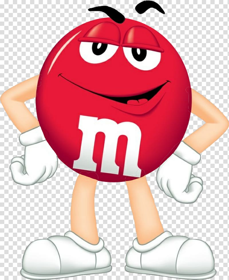 Red m&m illustration, M&M\'s Candy Chocolate Red , eminem.