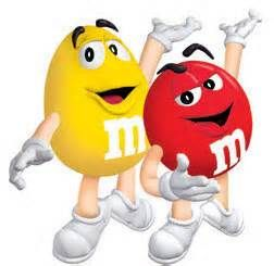 M &M Candies in 2019.