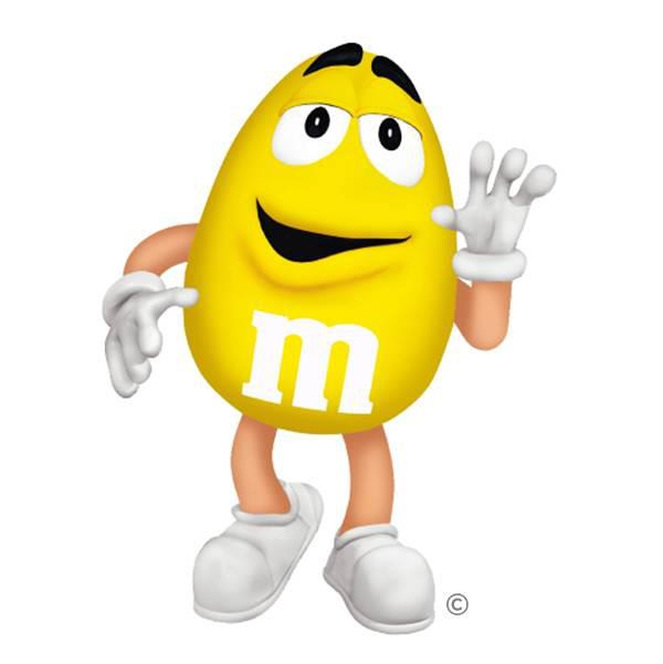 M&m Clipart Characters.