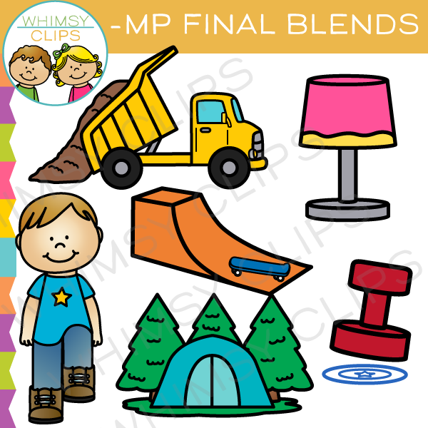 Ending Blends Clip Art Bundle.