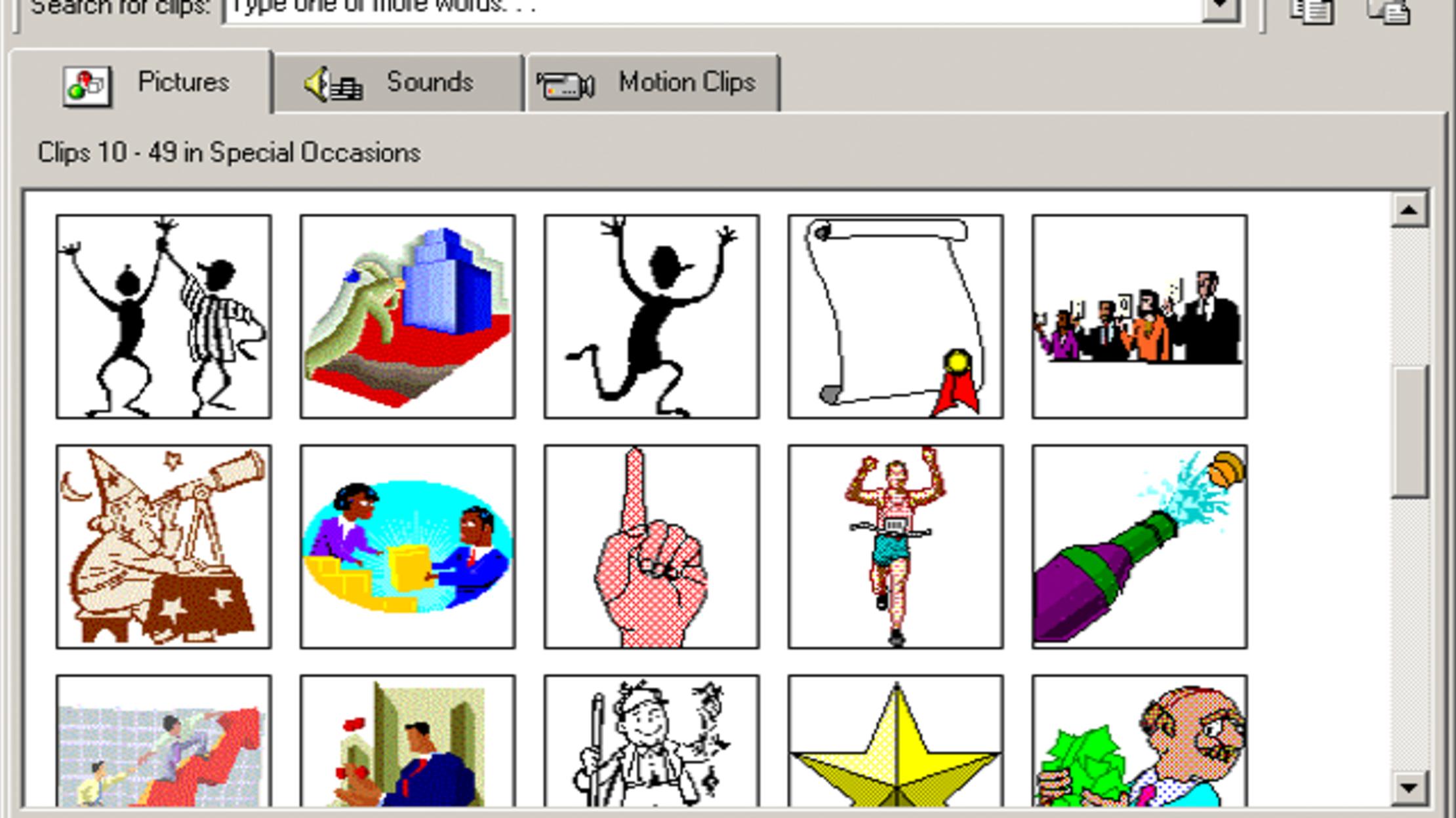 Microsoft Is Shutting Down Clip Art.