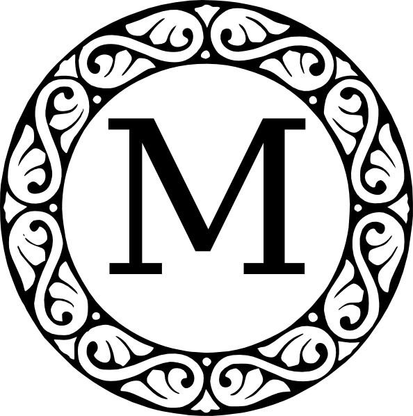 Monogram Letter M Clip Art at Clker.com.