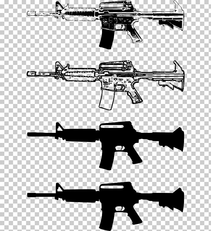 Firearm Rifle Weapon M4 carbine Clip, weapon PNG clipart.