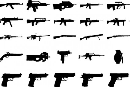 Guns Clip Art Download.