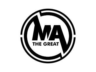 MA THE GREAT logo design concepts #11.