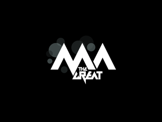 MA THE GREAT logo design concepts #4.