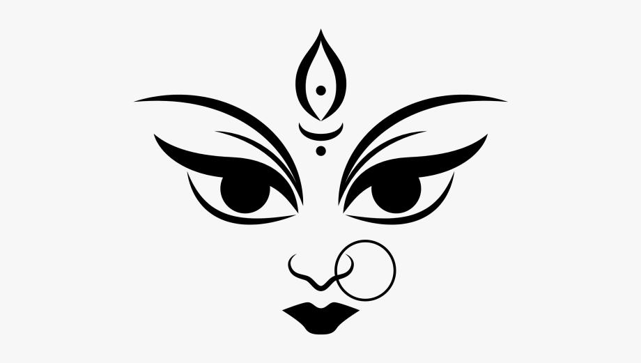 Clipart Maa Durga Png, Cliparts & Cartoons.