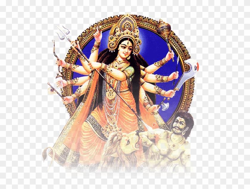 Durga Puja Png.