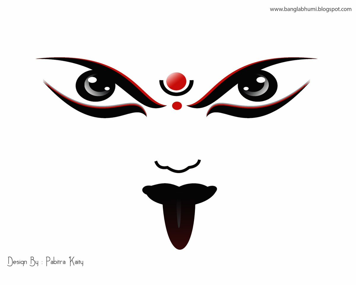 Kali Face Clip Art.