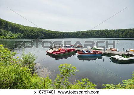 Stock Photography of Pulver maar maar lake x18757401.