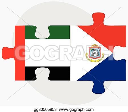 Sint Maarten Flag Clipart.