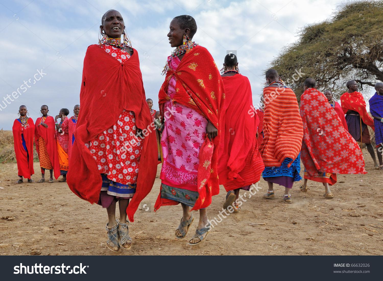 Masai Mara Kenya August 23 Group Stock Photo 66632026.