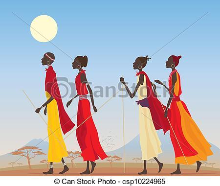 Masai Stock Illustrations. 286 Masai clip art images and royalty.
