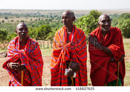 Masaai Stock Photos, Royalty.