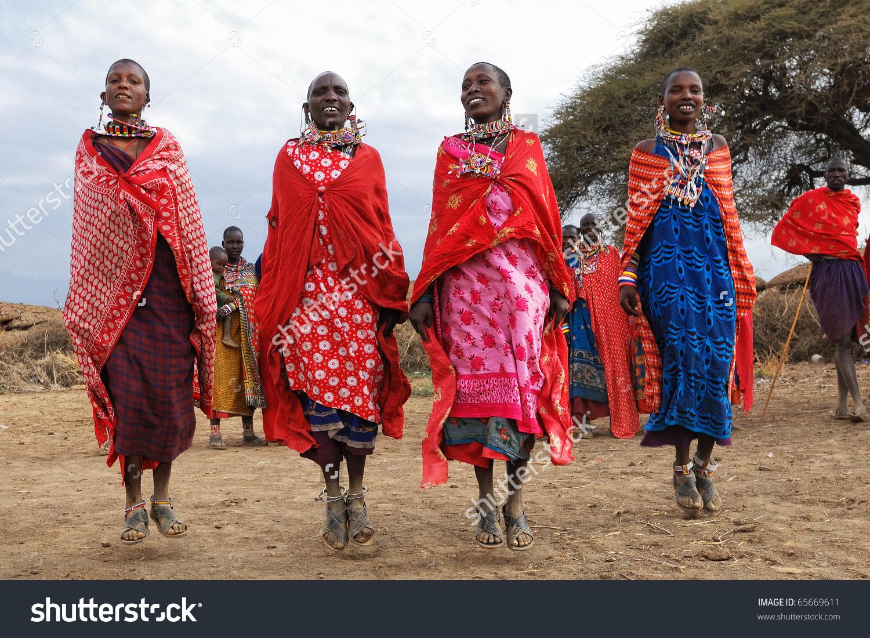 Masai Mara Kenya August 23 Group Stock Photo 65669611.