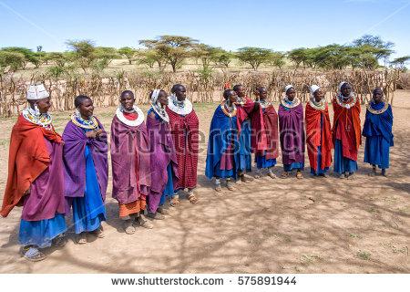 Maasai Beads Stock Images, Royalty.
