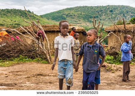 Maasai Boy Stock Photos, Royalty.