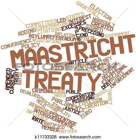 Stock Illustration of Maastricht Treaty k11733328.