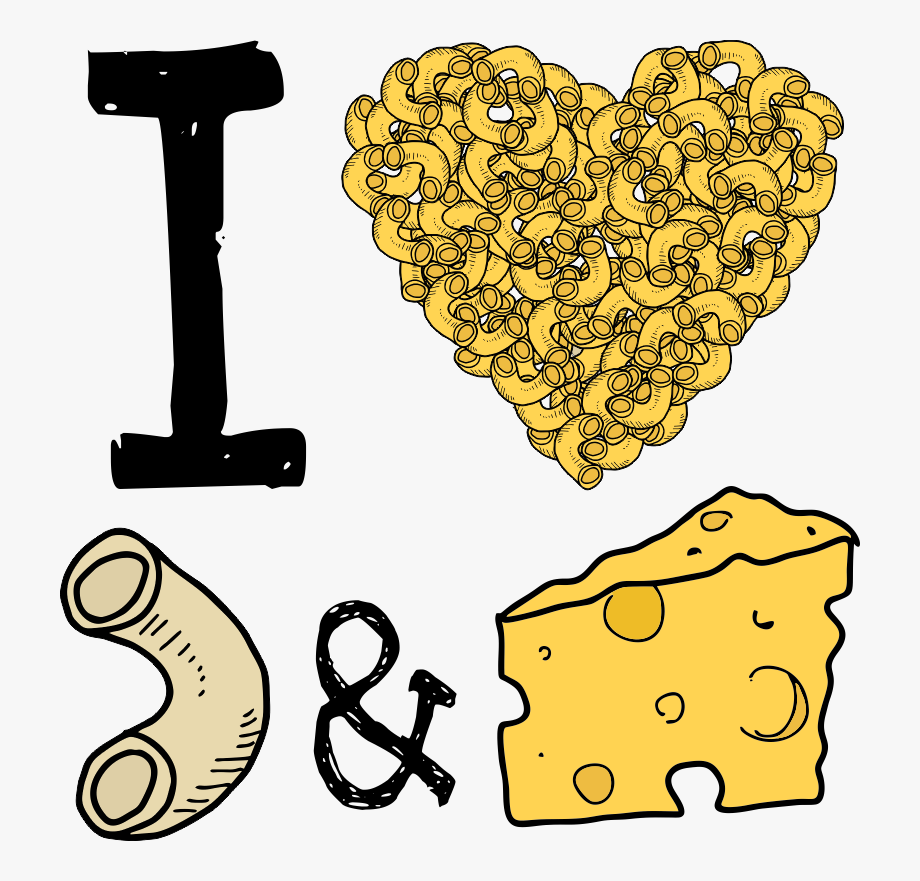 I Heart Mac & Cheese Baby One Piece, Toddler T Shirt.
