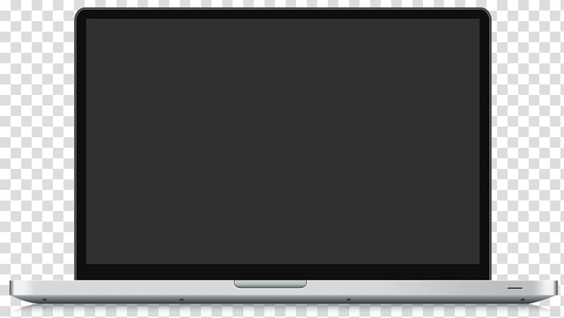 Gray and black laptop computer, MacBook Pro Laptop Template.