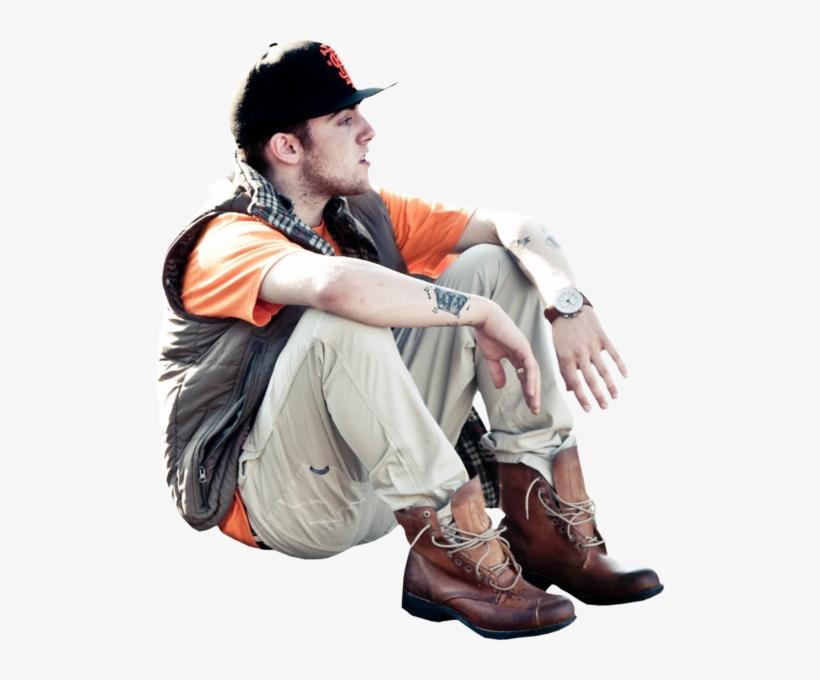 Hq Mac Miller Sitting.
