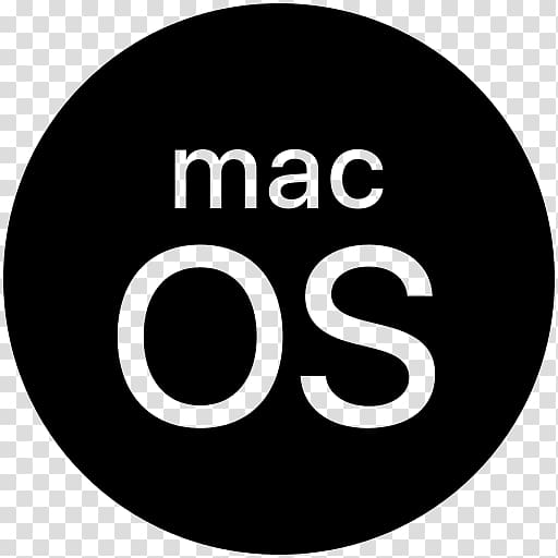 MacOS Apple Operating Systems, macos logo transparent.