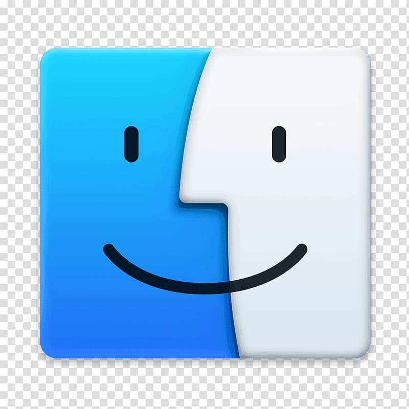 Finder Computer Icons macOS, apple transparent background.