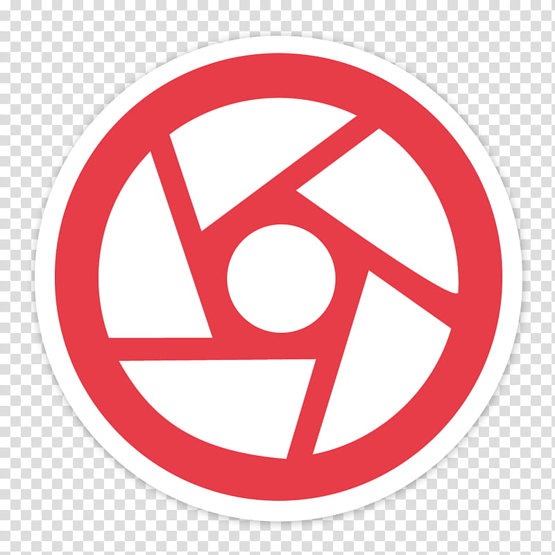 Flader default icons for Apple app Mac os X, capture, round.