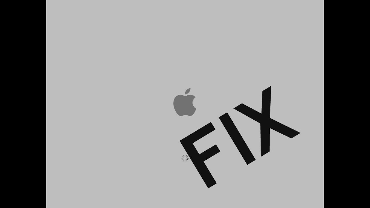 How To: Get Your Mac Out of a White/Gray Apple Logo Screen.